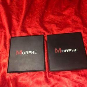2 Morphe blush palettes
